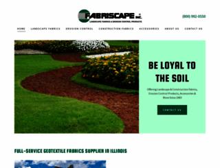 fabriscape.com screenshot