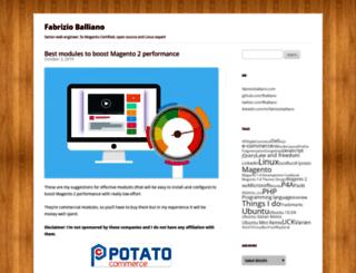 fabrizioballiano.net screenshot
