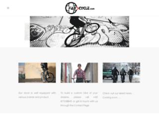 fabscycle.com screenshot