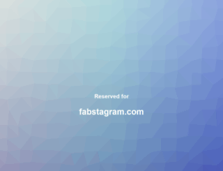 fabstagram.com screenshot