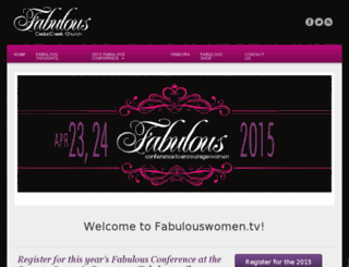 fabulouswomen.tv screenshot