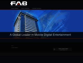 fabuniversal.com screenshot