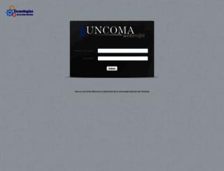 faca.uncoma.edu.ar screenshot
