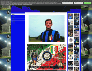 facchetti.jimdo.com screenshot