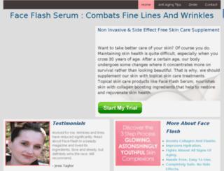 face-flash.org screenshot