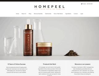 face-peel.com screenshot