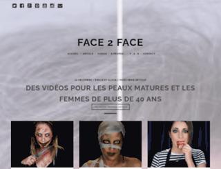 face2face-makeup.com screenshot