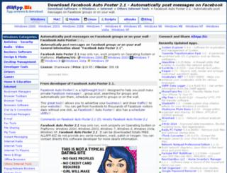 facebook-auto-poster-2-1.allapp.biz screenshot