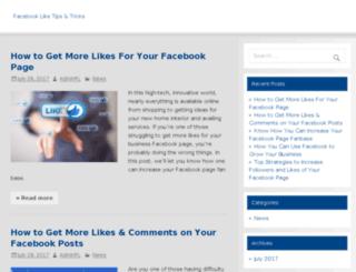 facebook-like.com screenshot