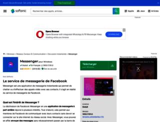facebook-messenger-pour-windows.softonic.fr screenshot