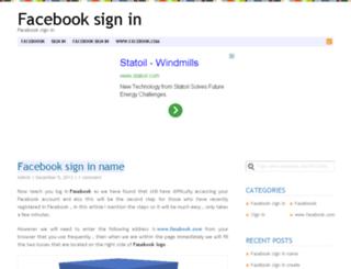 facebook-sign-in.org screenshot