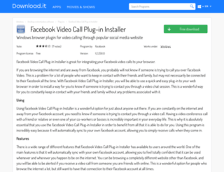 facebook-video-call-plug-in-installer.jaleco.com screenshot
