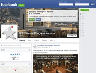 facebook.bcn.cl screenshot