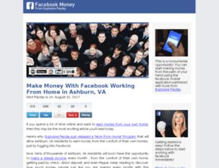 facebook.com-work-from-home-start-today.com screenshot