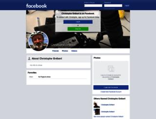 facebook.grebert.net screenshot