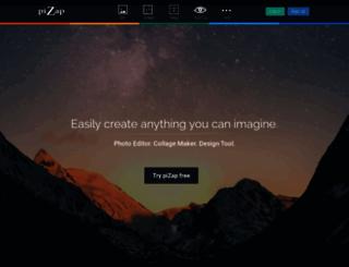 facebook.pizap.com screenshot