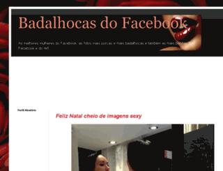 facebookbadalhocas.blogspot.pt screenshot