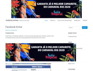facebookentrar.com screenshot