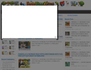 facebookgamecheats.net screenshot