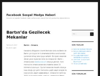 facebookhaber.net screenshot