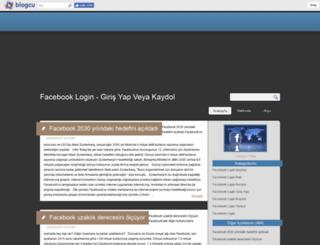 facebooklogin.blogcu.com screenshot