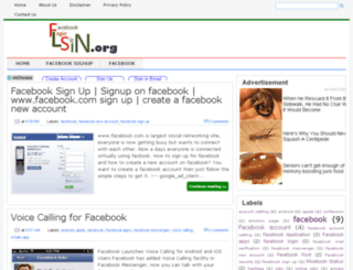 facebookloginsignin.org screenshot