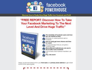 facebookpowerhouse.makeseriouscashfromhome.com screenshot