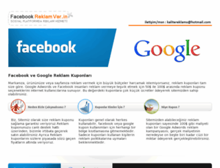 facebookreklamver.in screenshot