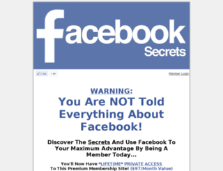 facebooksecrets.sec.bz screenshot
