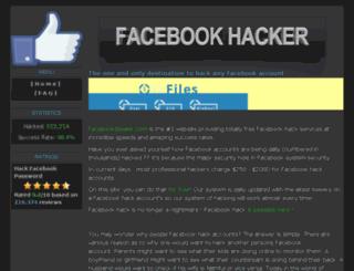 facebookstealer.com screenshot