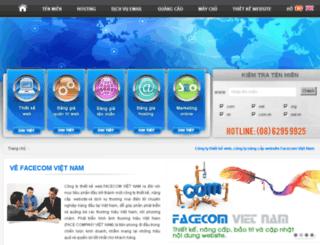 facecom.vn screenshot