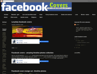 facecoversbanners.blogspot.com screenshot