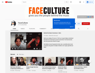 faceculture.nl screenshot