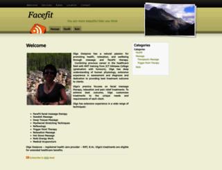 facefit.ca screenshot