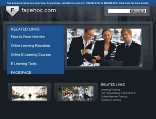 facehoc.com screenshot
