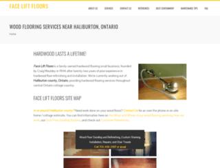 faceliftfloors.com screenshot