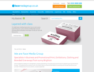 facemediagroup.co.uk screenshot