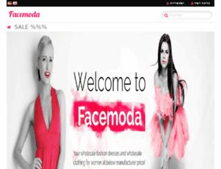 facemoda.eu screenshot