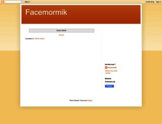 facemormik.blogspot.com screenshot