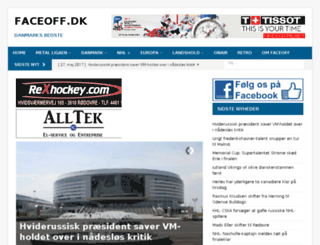 faceoff-online.dk screenshot