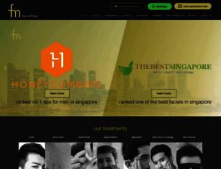 faceofman.com.sg screenshot