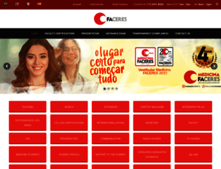 faceres.com.br screenshot