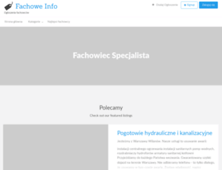 fachowe.info screenshot