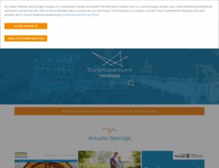 fachpublikum.thueringen-tourismus.de screenshot