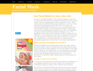 facialmask.insingaporelocal.com screenshot