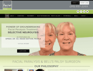 facialparalysisinstitute.com screenshot