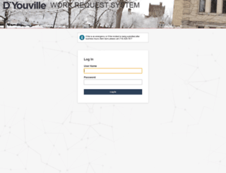 facilities.dyc.edu screenshot
