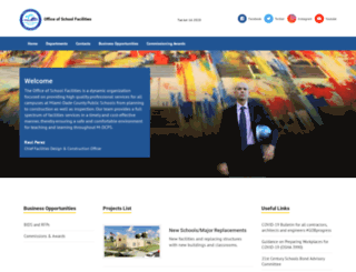 facilitiespictures.dadeschools.net screenshot