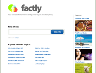 factly.com screenshot