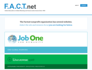 factnet.org screenshot